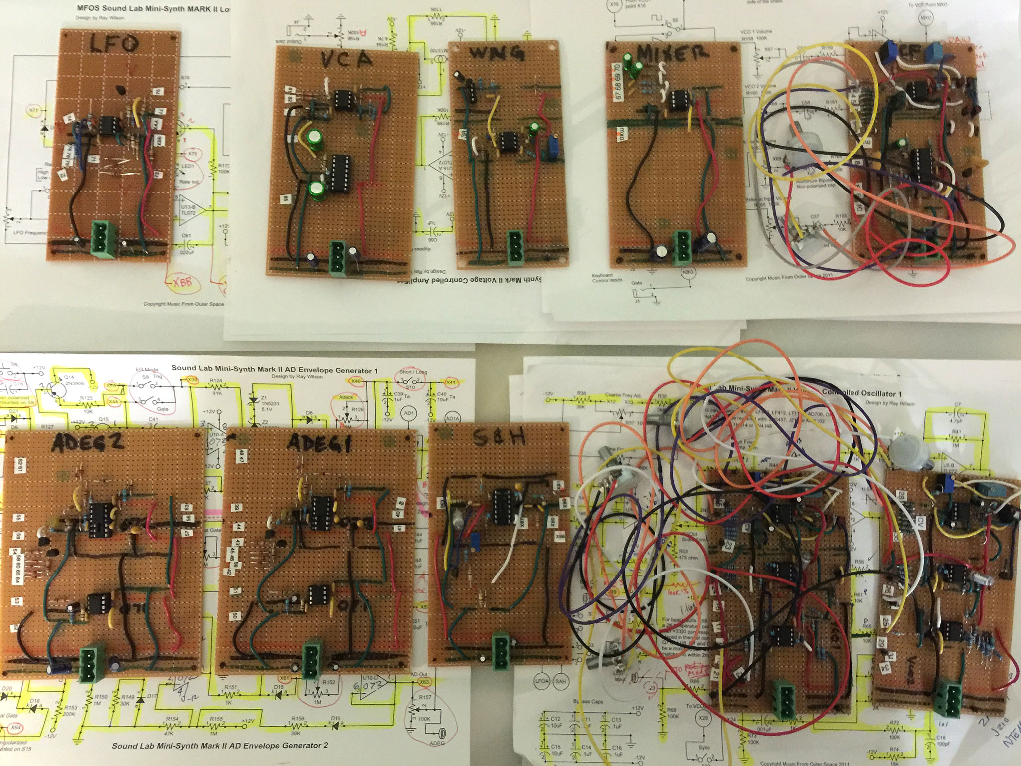 DelphiChord Circuits